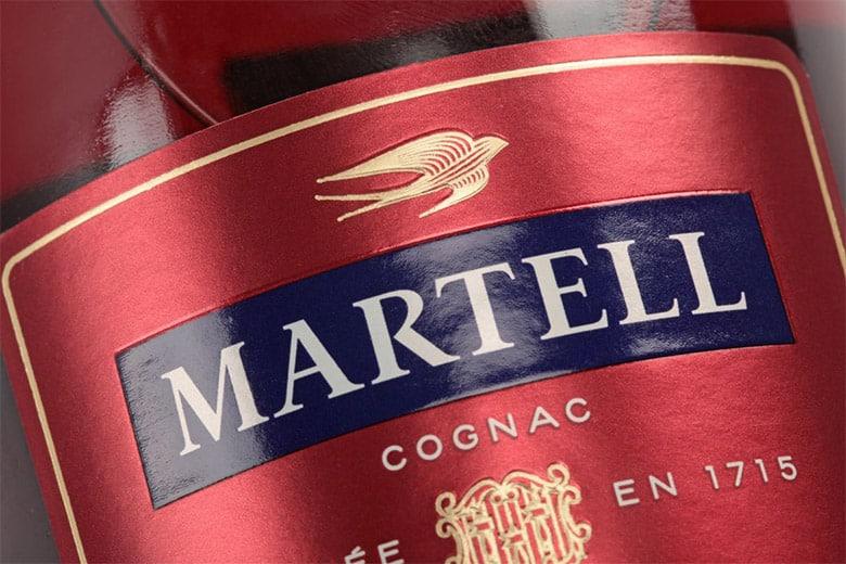 有着300多年历史的马爹利 (Martell)换了LOGO和新包装