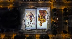 NIKE「超能籃球場」,用數位化創意打通線上線下