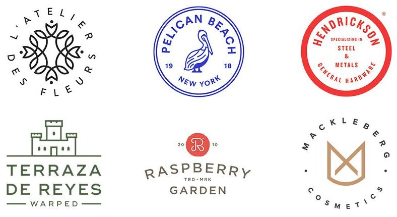 品牌设计师注意了!2018年的这10个标志设计趋势也许你会用得到