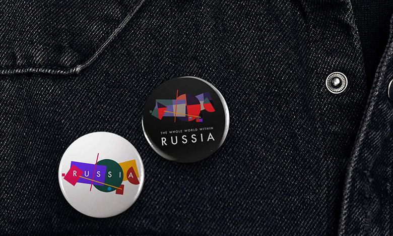 致敬至上主義,俄羅斯推出國家旅游品牌LOGO