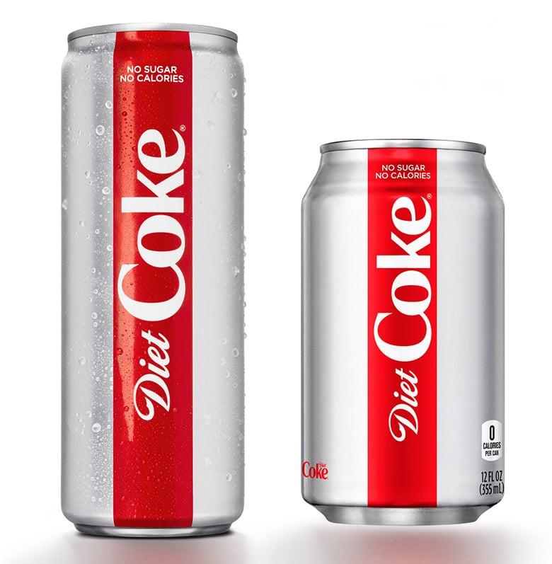 健怡可樂(Diet Coke)優化品牌LOGO,推出全新包裝設計