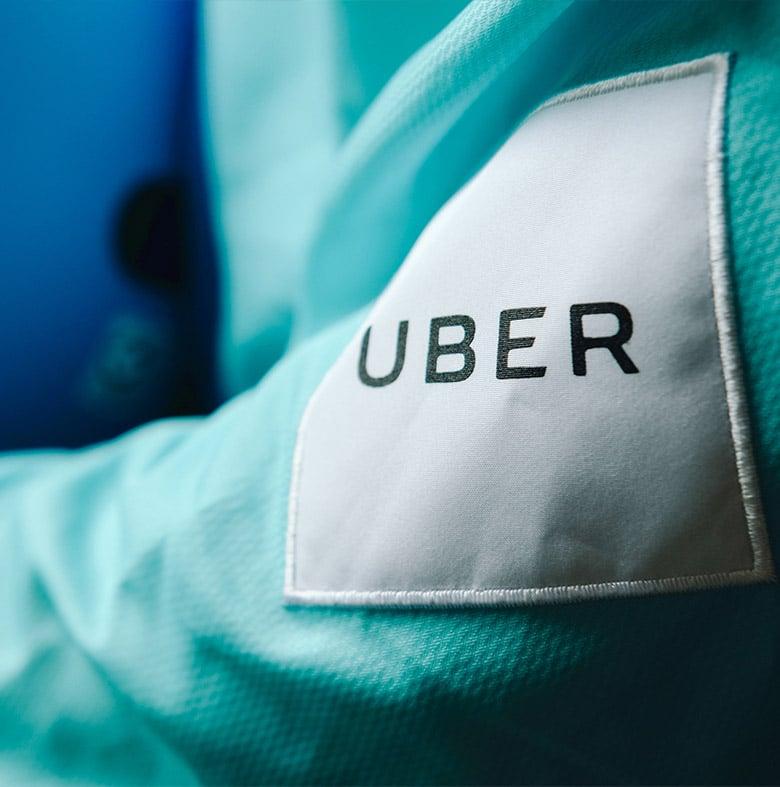 Uber(優步)摩托車接送服務UberMOTO全新品牌形象設計