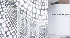 草間彌生美術館視覺形象Identity for Yayoi Kusama Museum