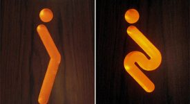 這些男男女女的icon,你可看懂了?Toilets Signs Designs Collection