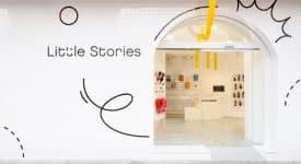 西班牙一家俏皮的兒童服裝店Little Stories空間設計