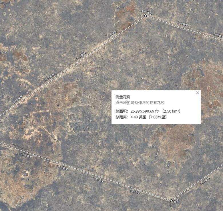 地球上最大的标志,总面积2.5平方公里,总长度超过7公里!