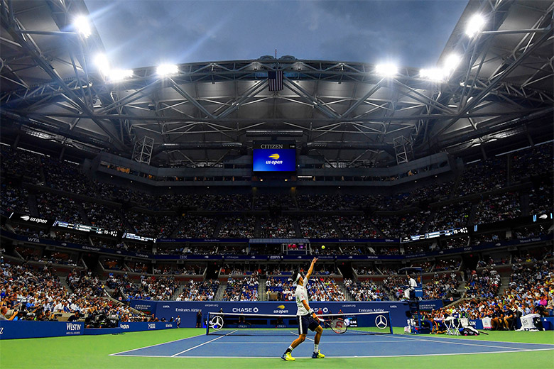 美国网球公开赛(US Open)启用新LOGO