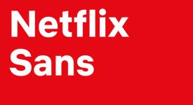 線上影音串流巨頭Netflix 推出品牌訂製字體