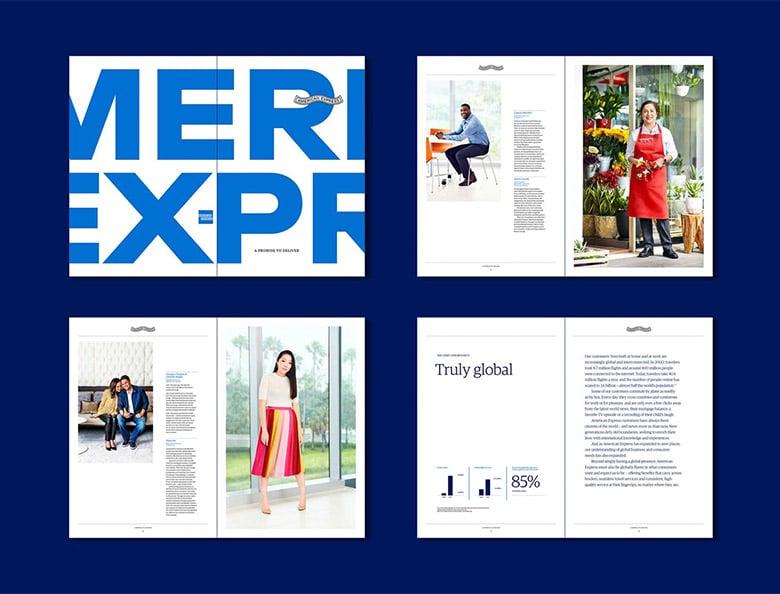 美國運通(American Express)發佈了暌違43年的品牌形象更新