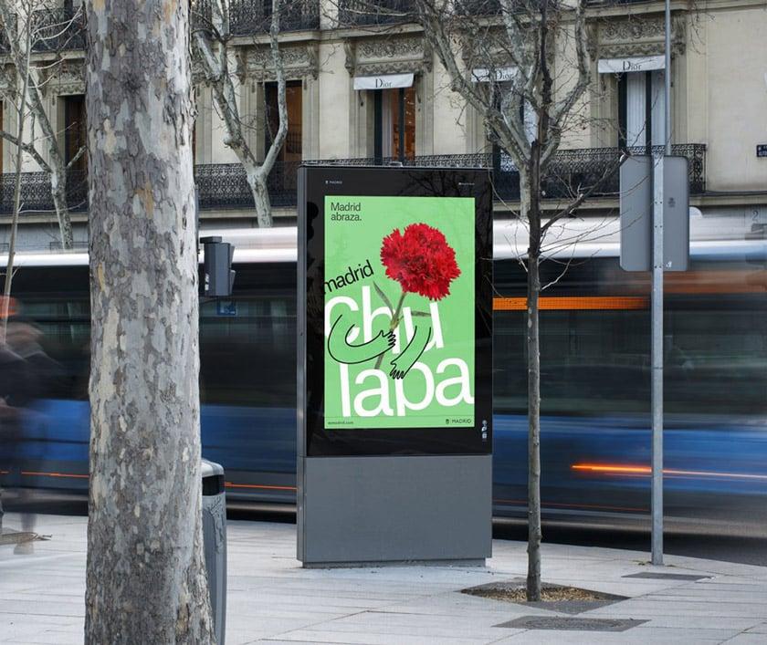 馬德里的擁抱:馬德里(Madrid)推出全新旅遊品牌LOGO