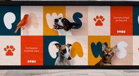 專注寵物食品的爪子公司品牌形象