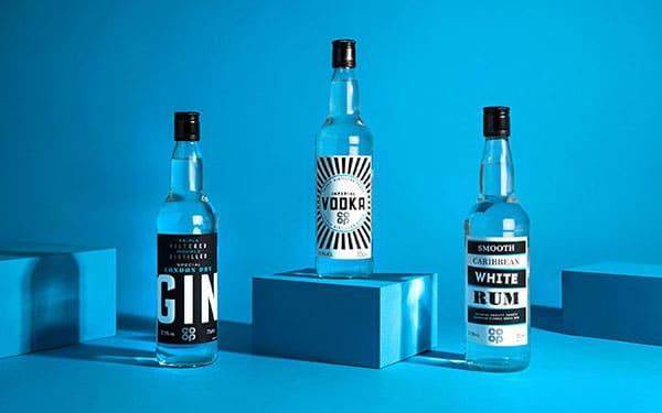 酒| Co-op新包裝