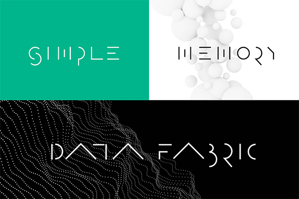 惠普企業新VI——未來主義的全新語言