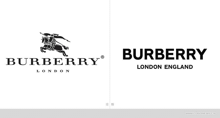 Burberry换掉了使用117年的骑士LOGO