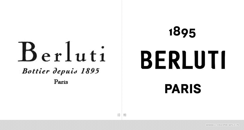 又一无衬线加入!奢侈品品牌 伯尔鲁帝(Berluti)更换新LOGO