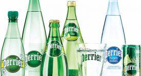法國知名氣泡水品牌Perrier更新品牌形象