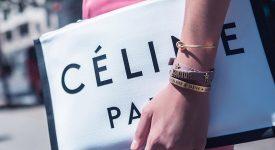"""高級時裝品牌Céline更換新LOGO,""""é""""上面的發音符不見了"""