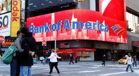 美國銀行(Bank of America)二十年來首次調整品牌LOGO