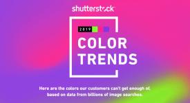 Shutterstock 2019年色彩趨勢:探索世界上最流行的色彩