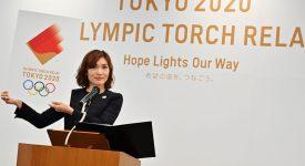 東京奧運火炬傳遞標誌與火炬設計發佈