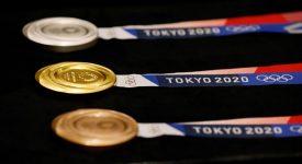 東京奧運會獎牌亮相,由8萬噸廢品打造(附歷屆奧運獎牌欣賞)