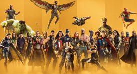 Marvel漫威工作室展示多部電影和劇集的主視覺LOGO設計