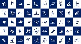 史上首創,東京2020奧運與殘奧運動項目動態圖標icon公佈