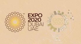 壯觀!土豪花巨資在沙漠建造2020年世界博覽會LOGO