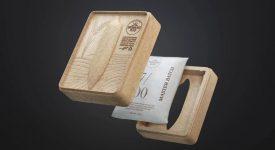 稻穀製作的大米包裝,吃完還能當紙巾盒!