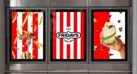 知名連鎖美式餐廳「星期五餐廳(TGI Fridays)」更換新LOGO