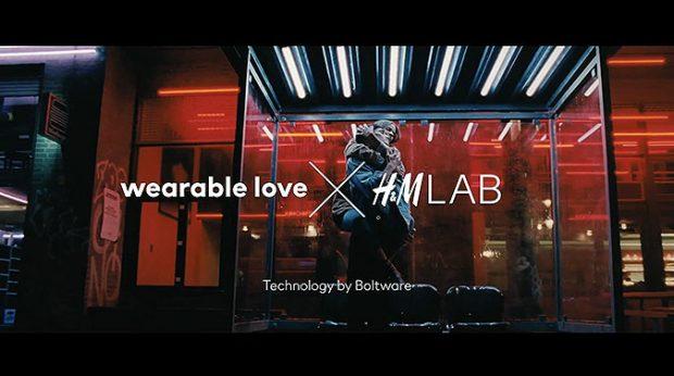HM技術應用可穿戴的愛