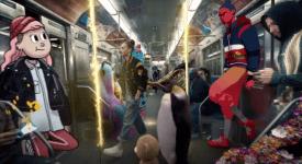 Adobe帶來了地鐵裡的奇幻世界