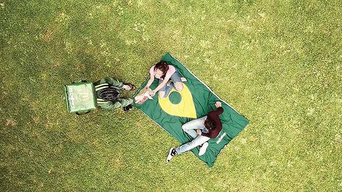 瑞典麥當勞創意活動野餐位置毯