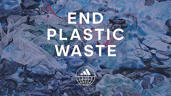 阿迪達斯宣傳廣告創新回收面料