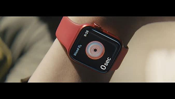 蘋果智能手錶Series 6 創意廣告已經做到