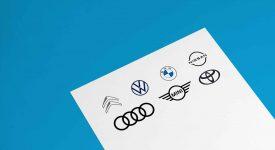 九個被壓扁的車標,BMW、NISSAN最優秀!你喜歡哪種壓法?