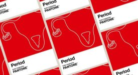 Pantone 發布「經期紅」主題色彩,號召結束女性恥辱感!