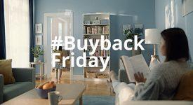 宜家家具廣告黑五購物季廣告書櫃