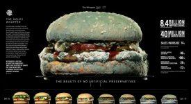發霉的漢堡做廣告,速食巨頭這般噁心自己,漢堡王演的是哪一齣?