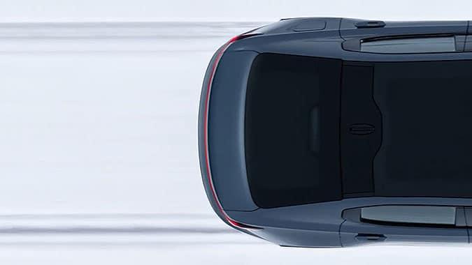 瑞典電動車品牌Polestar創意廣告雪地