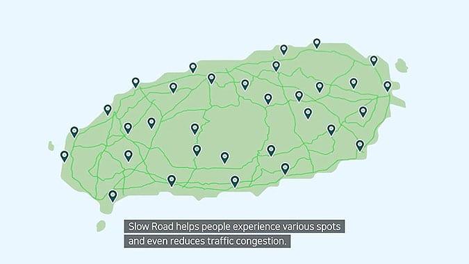 濟州島旅遊局疫情創意慢行道