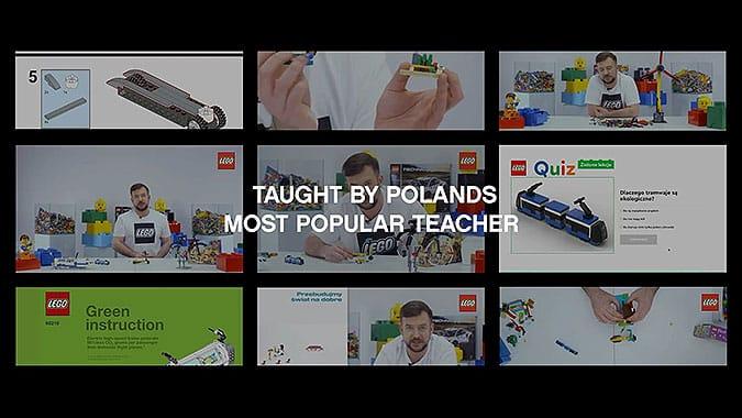 波兰乐高创意活动重建