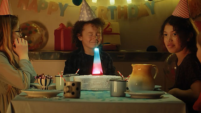 貝蒂妙廚Betty Crocker疫情創意免吹的蠟燭