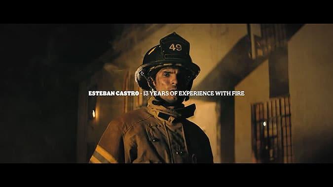 哥倫比亞漢堡王另類營銷贊助消防員
